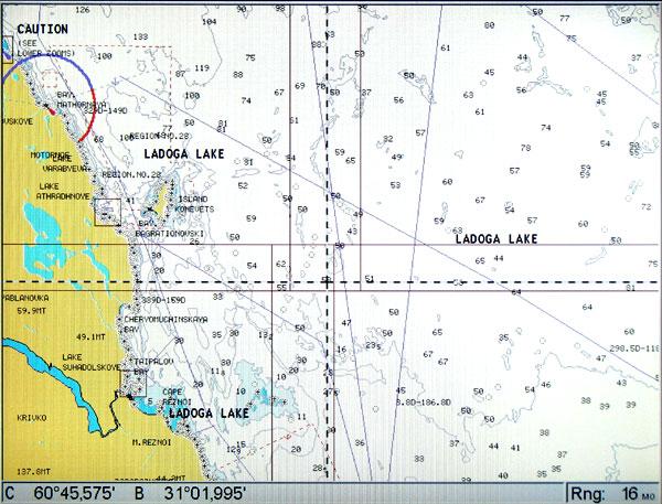 карта рыбинки для lowrance