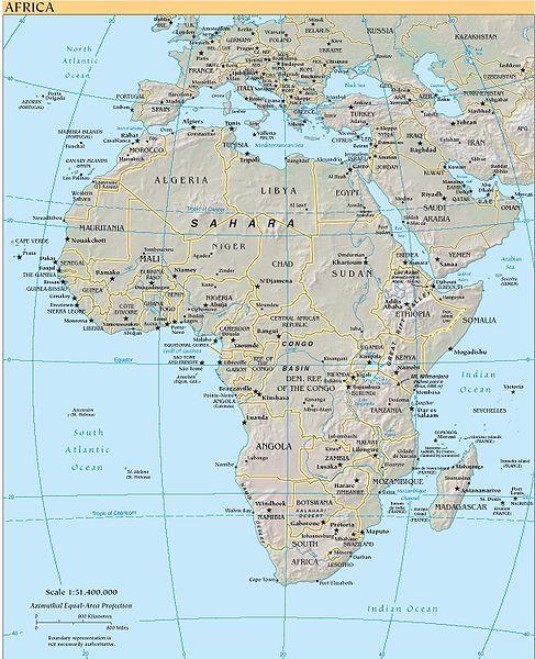 карта туниса для навител