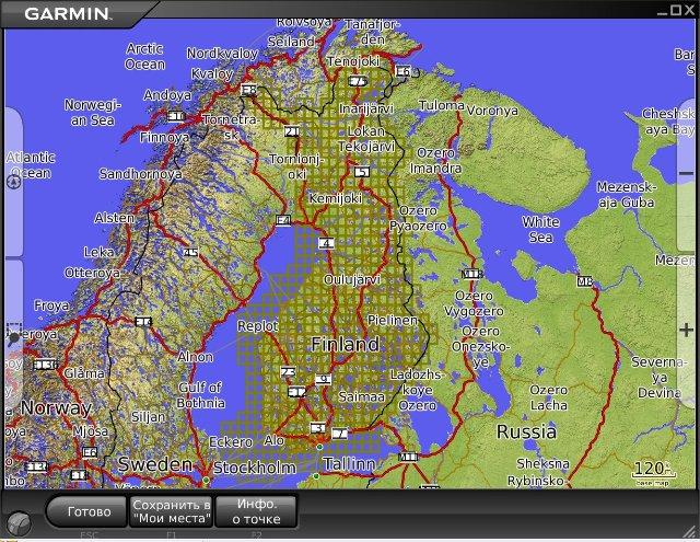 скачать карту финляндии для навигатора - фото 7