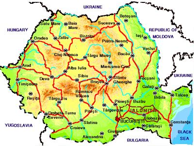 Карта Румынии Для Навигатора